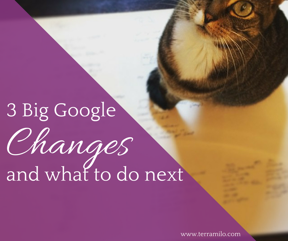 3 big google changes