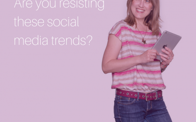 Are you resisting new social media trends?