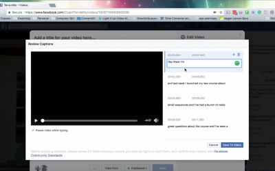 How to Get Captions on Facebook Videos